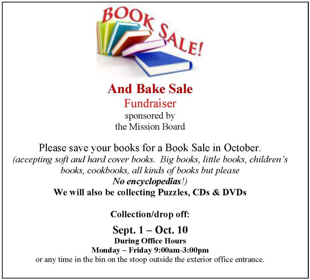 Book Sale Donations